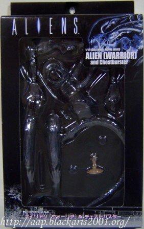Alien Warrior and Chestburster