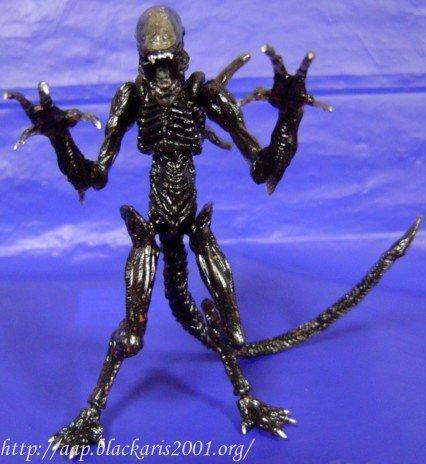 Warrior Alien in Translucent Color