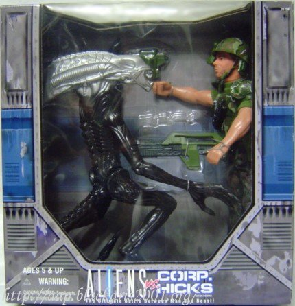 Alien vs Corp Hicks