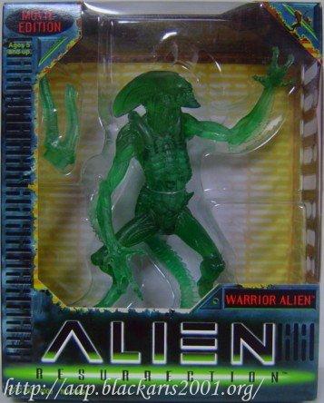 Clear Green Warrior Alien