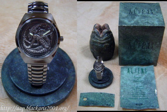 Alien Fossil Watch