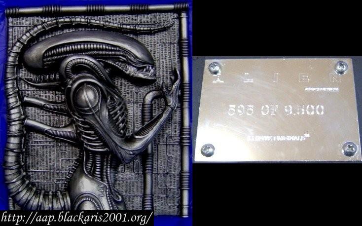 Alien Plaque