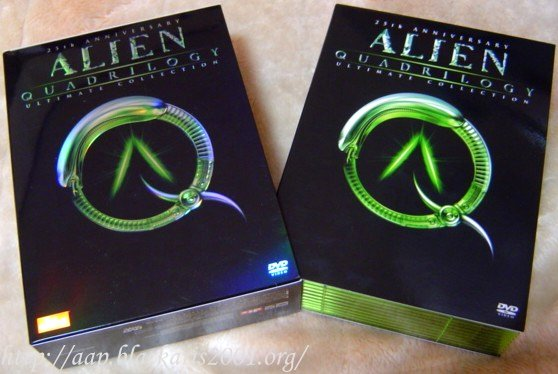 25th Anniversary Alien Quadrilogy Ultimate Collection LE9000
