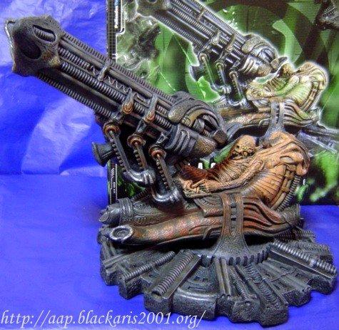 Alien Space Jockey Statue