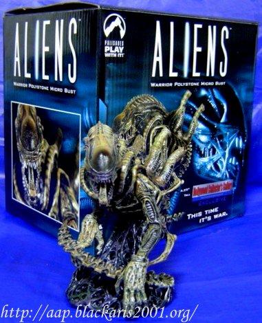 Alien Warrior Micro Resin Bust