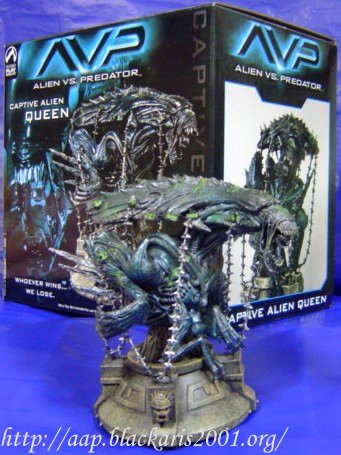 Captive Alien Queen Statue