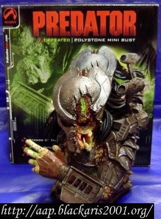 Defeated Predator Mini Resin Bust