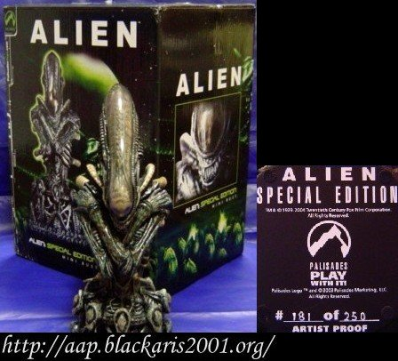 Director's Cut Alien Mini Resin Bust Collector's Item