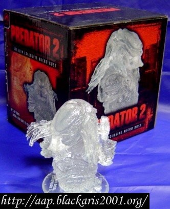 Predator 2 Stealth Exclusive Micro Bust