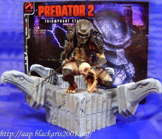 Predator 2 Triumphant Statue
