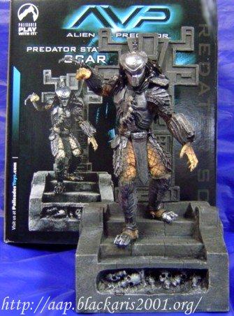 Predator Scar Statue