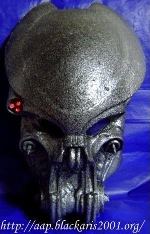 Celtic Predator Helmet Mask Costume Prop