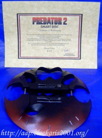 Predator 2 Smart Disc