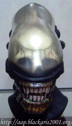 Alien Head Prop Replica