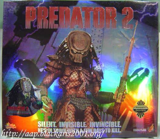 Battle Damaged Predator - Predator 2