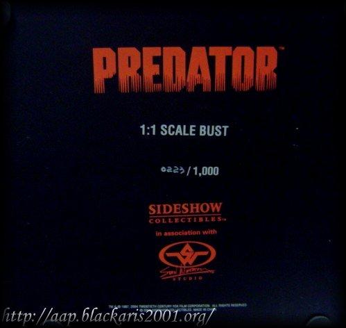Predator 1/1 Bust